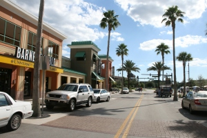 UCF has a lot of restaurants and shops on campus